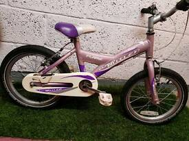 "Very lightweight claud butler girls 16"" wheel bike."
