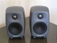 Genelec 8010A Compact Active Monitor Dark Grey - Pair AS NEW