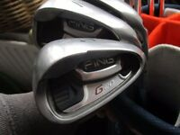 ping g20 irons great condition golf clubs