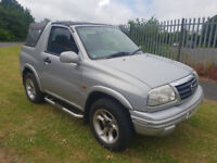 Suzuki GRAND VITARA. Low Millage. Long MOT. very clean and tidy great car. convertable roof