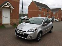 2011 RENAULT CLIO 1.5 DCI FAP DYNAMIQUE (TOM TOM) LONG MOT FULLY SERVICE LOW MILEAGE FULL HPI CLEAR