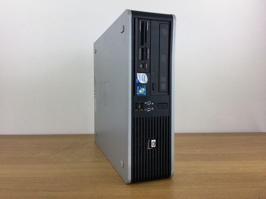 WINDOWS 10 HP DC7900 DESKTOP COMPUTER INTEL CORE 2 DUO 3.00GHz PC 4GB RAM  250GB 4e757b5333b6