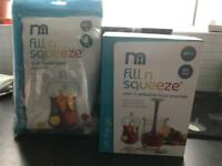 Mothercare Fill n Squeeze Starter Set & Refill Pack