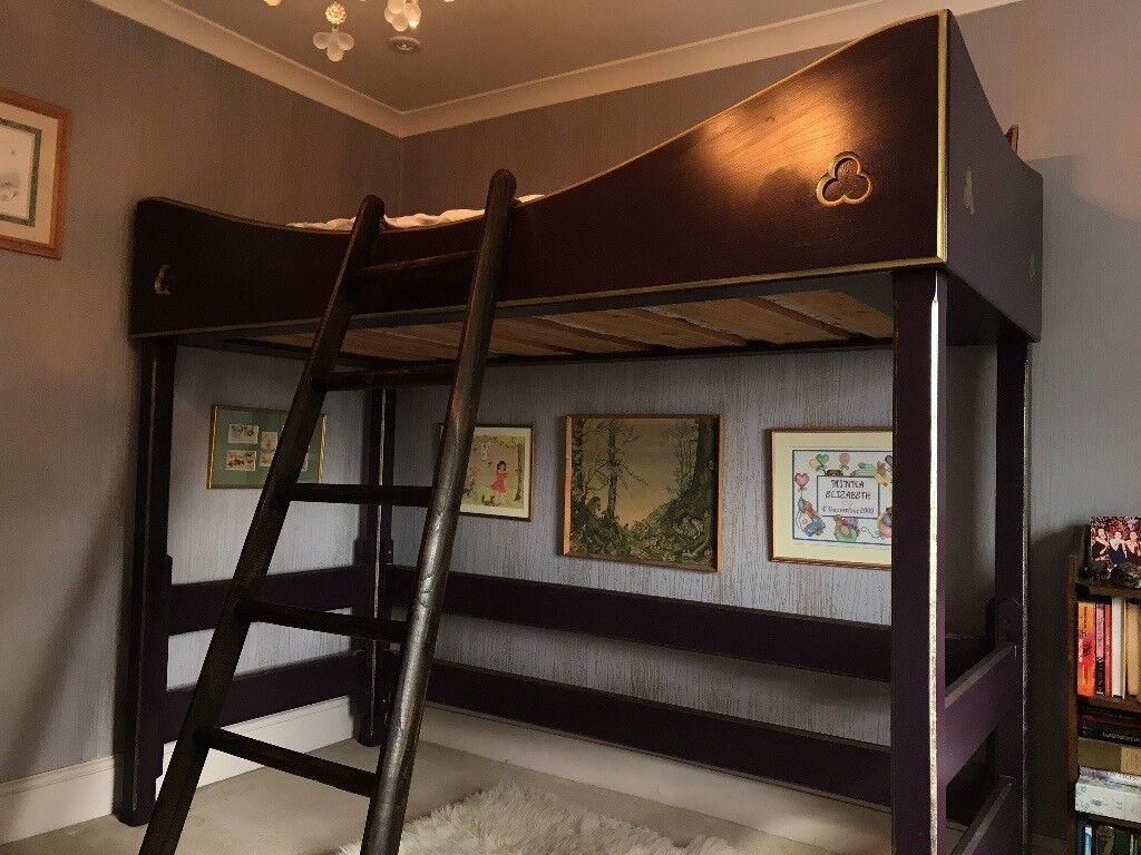 Anther Ladder bespoke hand made bunk bed and mattress   in highgate, london   gumtree