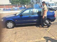 Honda civic good condition very nice at his age 2000 model blue. Manual 1.4