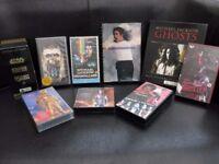 MICHAEL JACKSON TAPES, CDs STAR WARS TRILOGY BOX SET