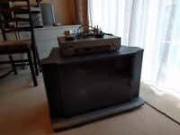 TV cabinet and Sony Video recorder player