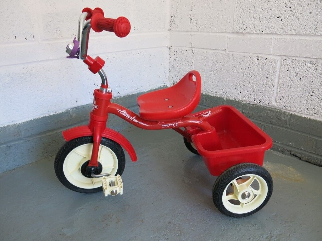 6318ce31414 Toddler Childrens Retro Style Tricycle ITALTRIKE-CLASSIC LINE- RED TRICYCLE  Trike bike bicycle