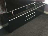 Black High Gloss TV Unit (Ikea)