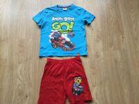 ** Kids Pyjamas Angry Birds Age 7-8 **