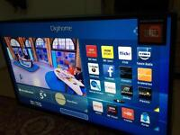 """Digihome 43"""" smart tv led 1080p wifi freeview built in"""