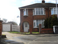 3 Bedroom House, Garage, Driveway, Garden, close to Schools, Motorway, Train Station, Hospital.