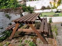 Garden bench (almost new)