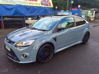 Ford Focus rs comes with RS private plate s3 r32 Gti Evo s4