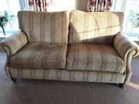 3 seater settee + armchair macthing + armchair and footstool