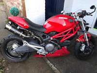 Ducati monster 696+ 2008 swap for 899 panigale