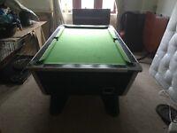 Supreme winner - Slate Top - 7ft Pool Table - with balls