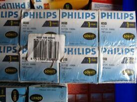 Selection of New Philips and Osram Light Bulbs