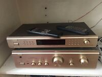 Denon integrated stereo amplifier