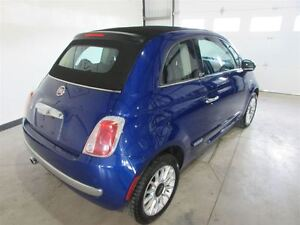 2013 Fiat 500C Lounge **CONVERTIBLE**CUIR**MAGS**AUTOMATIQUE**