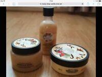 body shop vanilla chai set
