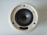 "TANNOY CMS501 DC BM 5"" 100V 8 ohm 120 Watt Ceiling Speaker - NEW"