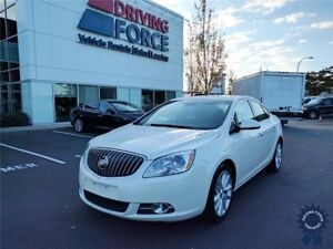 2016 Buick Verano w/Premium Leather Appointed Seats, Bluetooth