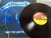 Metallica – Ride The Lightning - Vinyl L.P. - Music For Nations