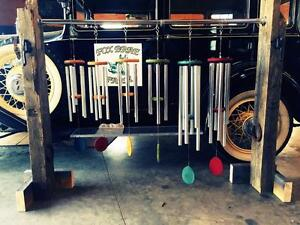 Engraved Handcrafted Canadian Windchimes FREE HANGER DEAL
