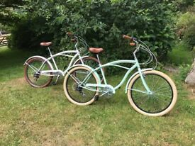 2 Occona hybrid bikes purchased in Sweden in August 2017