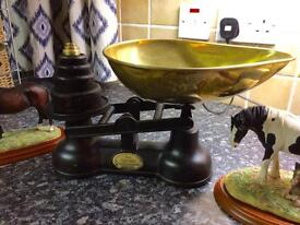 Antique Staffordshire Scales