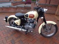 2015 Royal Enfield Bullet Classic Motorbike