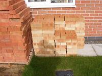 300 New Facing Bricks - Yellow tint
