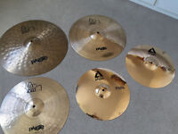Paiste Alpha Cymbals (for Drum kit) - Great Condition!