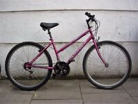 Ladies Mountain/ Commuter Bike by Apollo,Purple,JUST SERVICED / CHEAP PRICE!!!