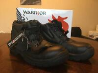 New warrior work Boots Size 7