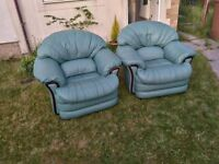 beautiful armchairs - only 20 for both!