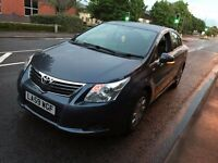 2009 TOYOTA AVENSIS 2.0 DIESEL MANUAL 5 SEATS MOT GREAT DRIVE NEWER SHAPE PCO PRIVATE HIRE NO PASSAT
