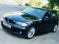 2009 BMW 118D 1 SERIES 2.0 M SPORT DIESEL MANUAL 3 DOOR HATCHBACK GREAT DRIVE MOT 5 SEAT N MINI 120D