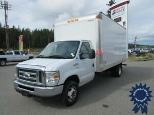 2016 Ford E-450 16 Ft Cube Van Rear Wheel Drive - 35,373 KMs