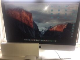 27inch Apple iMac desktop great condition