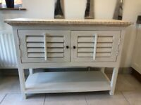 Cabinet sideboard, cream painted