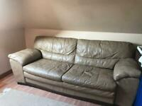Brown sofa - for collection