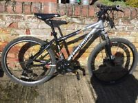 "Claud Butler 16"" Aluminium Framed Mountain Bike, Disc brake, 26"" wheels."