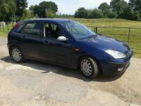 BREAKING FORD FOCUS GHIA TDCI 2003 GOOD ENGINE BLACK LEATHER ELECTRIC SEATS