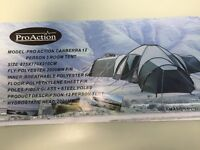 Pro Action Canberra 12 person - 3 room tent - ONLY £50