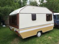 Retro Caravan Alpine Ci Sprite SV