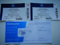 Two tickets for Justin Timberlake 'The Man of the Woods Tour' in O2 Arena
