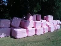 AA top cut haylage 3.75 foot quadrants octangal wrapped