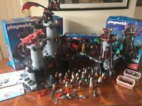 Awesome Playmobil Castle, Dragon & Knights Set - used very good condition